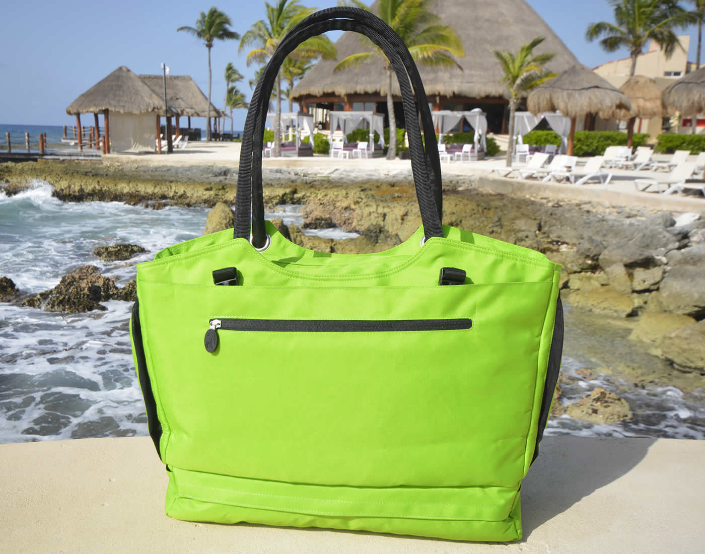 Sea Green Backpack Pastel Bag for holiday Beach Bag Sport Bag Waterproof bag Lootbag classic LootbagShop